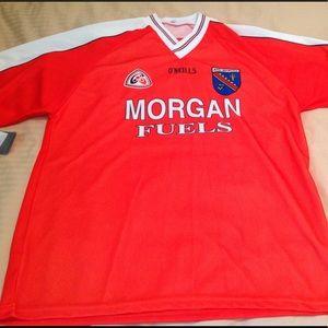 Morgan Fuels soccer club jersey NWT